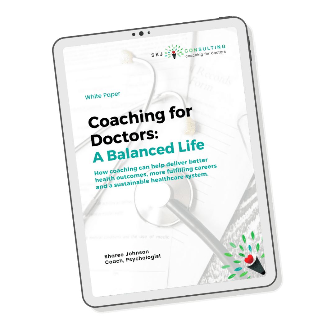 cover of white paper 'A Balanced Life'